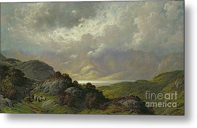Scottish Landscape Metal Print