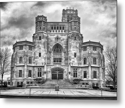 Metal Print featuring the photograph Scottish Rite Cathedral by Howard Salmon