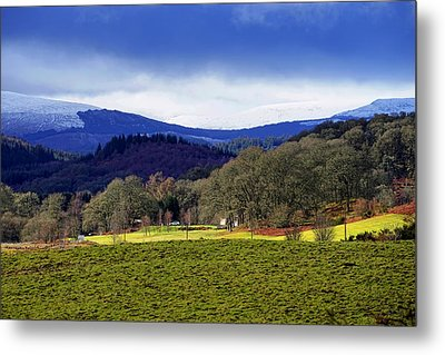 Metal Print featuring the photograph Scottish Scenery by Jeremy Lavender Photography