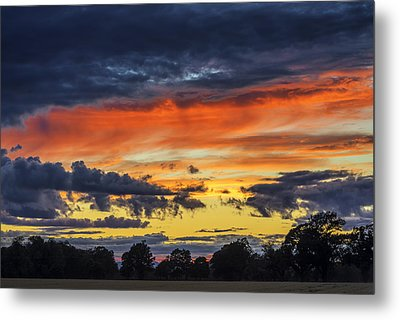 Metal Print featuring the photograph Scottish Sunset by Jeremy Lavender Photography