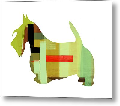 Scottish Terrier Metal Print