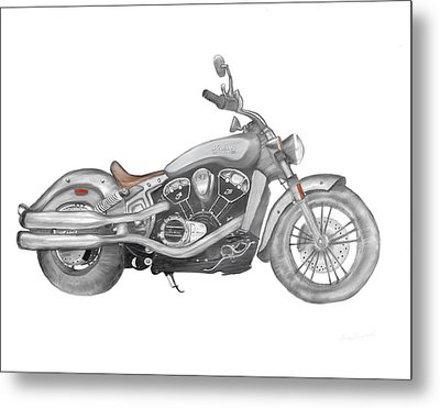 Scout 2015 Metal Print by Terry Frederick