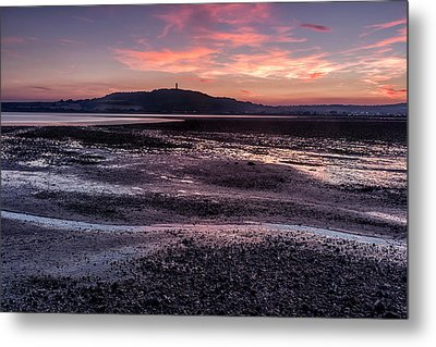 Scrabo Above Strangford Lough Metal Print