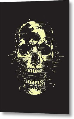 Scream Metal Print by Balazs Solti
