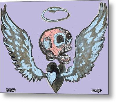 Screaming Hearts Metal Print by Robert Wolverton Jr