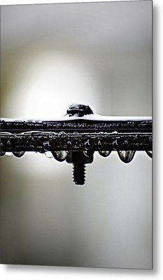Screw This Rain Metal Print by Lisa Knechtel