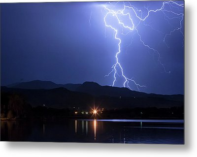 Metal Print featuring the photograph Scribble In The Night by James BO Insogna
