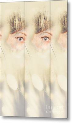 Scrying Parallel Lives Metal Print