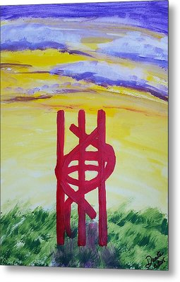 Sculpture Park Metal Print by Carol Duarte