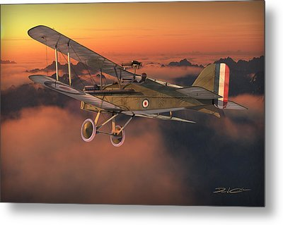 S.e. 5a On A Sunrise Morning Metal Print by David Collins