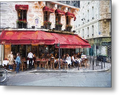 Le Saint Germain Metal Print by John Rivera