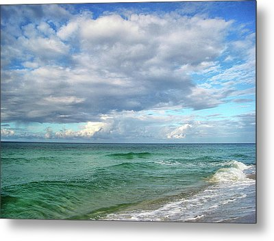 Sea And Sky - Florida Metal Print by Sandy Keeton
