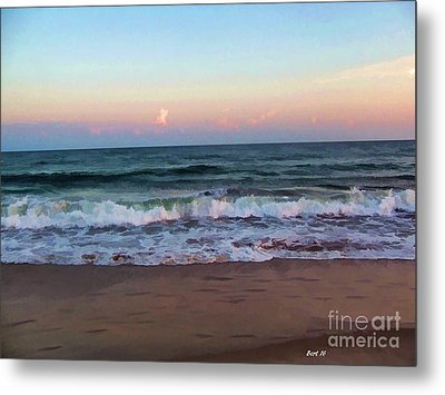 Metal Print featuring the photograph Sea And Sky by Roberta Byram