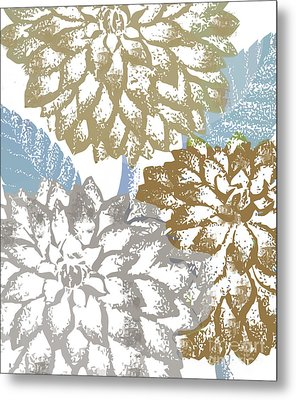Sea Dahlias II Metal Print by Mindy Sommers