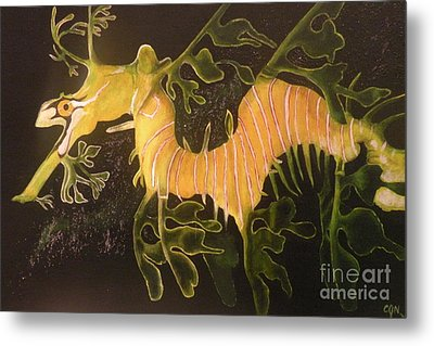Sea Dragon Metal Print by Carol Northington