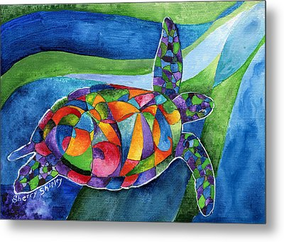 Sea Gypsy Metal Print