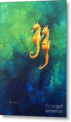 Sea Horses Metal Print