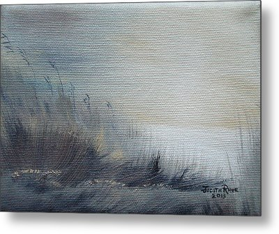 Metal Print featuring the painting Sea Oats by Judith Rhue
