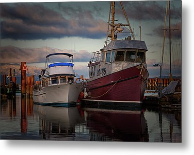 Metal Print featuring the photograph Sea Rake by Randy Hall