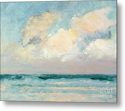 Sea Study - Morning Metal Print by AS Stokes