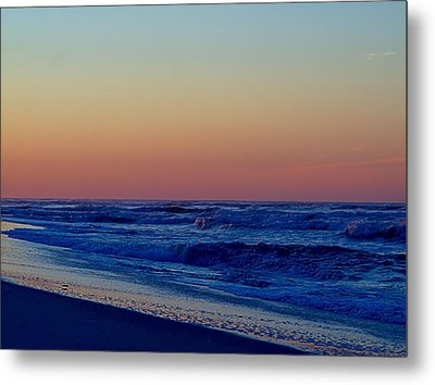 Metal Print featuring the photograph Sea View by  Newwwman