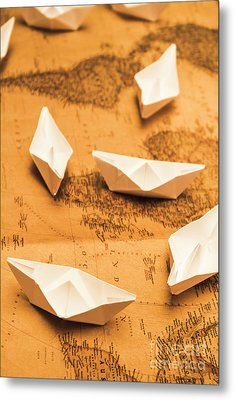 Seafaring The Seven Seas Metal Print by Jorgo Photography - Wall Art Gallery