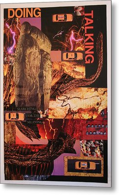 Search For The Meaning Metal Print