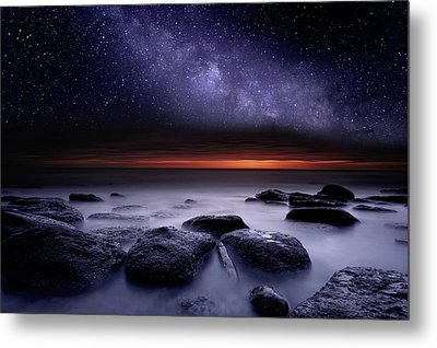 Metal Print featuring the photograph Search Of Meaning by Jorge Maia