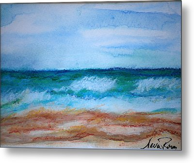 Seascape I Metal Print by Neva Rossi