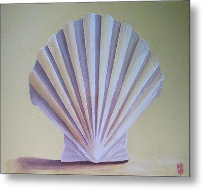 Seashell II Metal Print by Michael Holmes