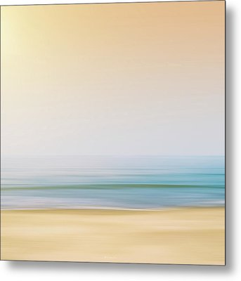Seashore Metal Print by Wim Lanclus