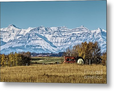 Season's End Metal Print