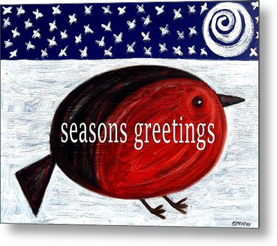 Seasons Greetings 4 Metal Print by Patrick J Murphy