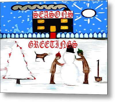 Seasons Greetings 69 Metal Print by Patrick J Murphy