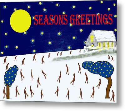 Seasons Greetings 80 Metal Print by Patrick J Murphy