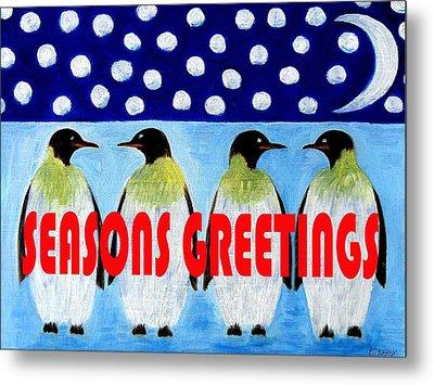 Seasons Greetings 9 Metal Print by Patrick J Murphy
