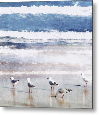 Seaspray Metal Print by Holly Kempe
