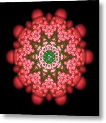 Seastar Lightmandala  Metal Print