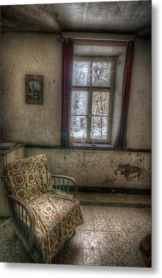 Seat With A View Metal Print