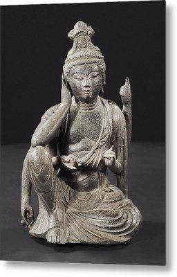 Seated Buddha Metal Print by Japanese School