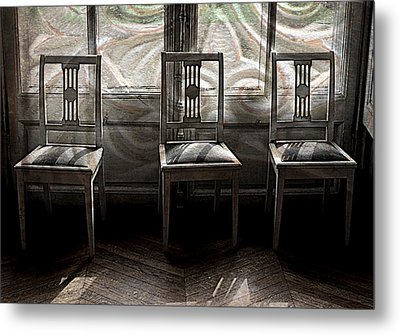 Seating Available Metal Print