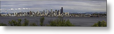 Seattle At Its Best Metal Print