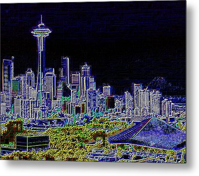 Seattle Quintessence Metal Print by Tim Allen