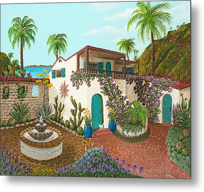 Secluded Paradise Metal Print by Katherine Young-Beck