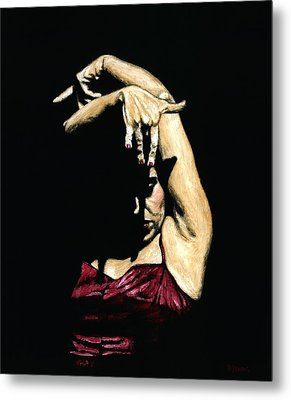 Seclusion Del Flamenco Metal Print by Richard Young