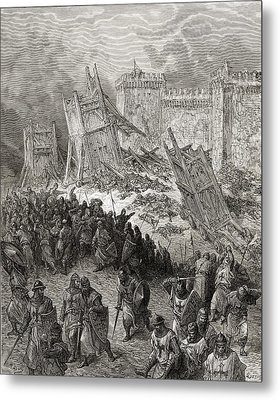 Second Assault Of Jerusalem The Metal Print
