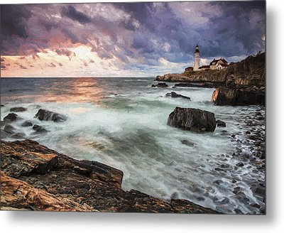 Second Day Begins II Metal Print by Jon Glaser