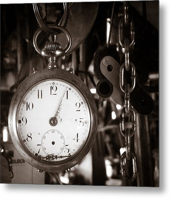 Metal Print featuring the photograph Seconds Past by Chris Bordeleau