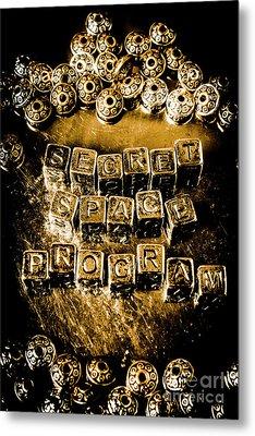 Secret Space Program Metal Print by Jorgo Photography - Wall Art Gallery