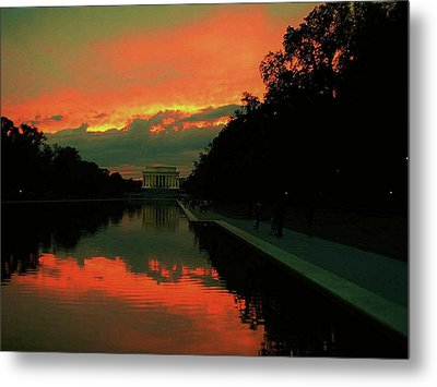Secrets Of Dc Metal Print